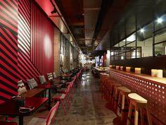 Juicy Design a réalisé un bar-restaurant appelé Méjico, localisé à Sydney, Australie.