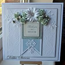 Sue wilson new dies card (paperpastimes) Tattered Lace Cards, Spellbinders Cards, Anna Griffin Cards, Embossed Cards, Heartfelt Creations, Pretty Cards, Shabby, Sympathy Cards, Flower Cards