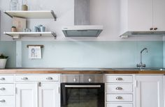 beautiful non-tile kitchen backsplashes interiors