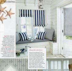 More nautical inspiraions! Our Maritime collection in Period Homes & Interiors - July Issue