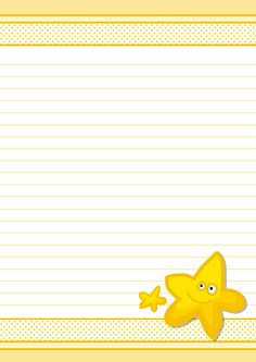 Narrow Ruled Paper With Black Lines On A Light Yellow Background
