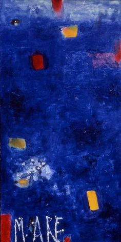 Nicola De Maria, Mare, chiudere gli occhi, o mare, 1983