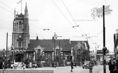 Photo of Leytonstone, St John's Church St John's Church, Underground Tube, London Symphony Orchestra, The Blitz, Forest Road, Local History, Conservation, Good Times, Pond