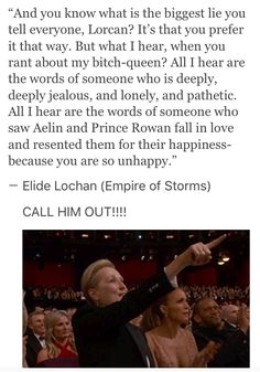 EOS SPOILERS<<I was so happy when someone finally called our Lorcan on his shit because someone needed to do it and soon