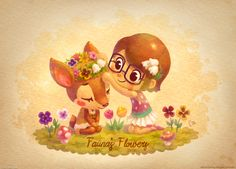 Animal Crossing Fanarts on Behance by Ellie Horie