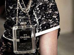 Chanel No-5 Perfume Bottle Clutch