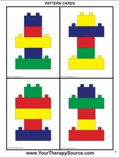 turnen im kindergarten weihnachten - Mode Für Teens Visual Motor Activities, Lego Activities, Therapy Activities, Preschool Activities, Lego Duplo, Legos, Lego Therapy, Preschool Math, Kids Education