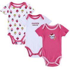 c26325cf0c1e New 3PCS Baby Boy Rompers Baby Clothing Set Summer Cotton Baby Girl Boy  Short                                          Ali  מא…