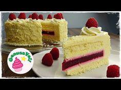 zarte WEIẞE MOUSSE AU CHOCOLAT TORTE mit Himbeer-Fruchteinlage - YouTube Mousse Au Chocolat Torte, Chocolate Torte, Modern Cakes, Köstliche Desserts, Baby Party, Vanilla Cake, Bakery, Cheesecake, Cupcakes