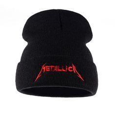 2412a7d89d8 Metallica Knitted Beanie. Cheap CapsHat MenHats For MenMetallicaWinter ...