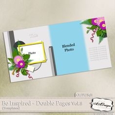 Be Inspired - Double Pages Vol.8 by AADesigns