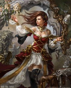 ArtStation - Mobius Final Fantasy - Melter, Laura Sava