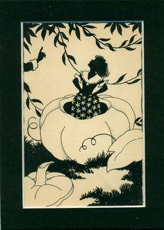 Vintage 1935 Children's Book Illustration  by suesancollectibles