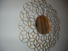 Moon Sunburst Toilet Paper Roll Wall Art