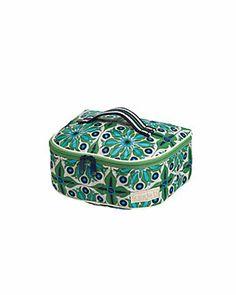 cinda b 'Verde Bonita' 3pc Cosmetic Case Set