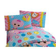 Lalaloopsy Doll Twin Sheet Set with 1 Flat, 1 Fitted Sheet and 1 Pillowcase by Lalaloopsy. $35.45. Complete Twin sheet set. 1 Flat, 1 Fitted Sheet and 1 pillowcase