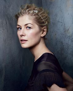 """4,585 Likes, 22 Comments - Vanity Fair (@vanityfair) on Instagram: """"Happy birthday to Oscar-nominated actress Rosamund Pike. Photograph by @PatrickDemarchelier for…"""""""