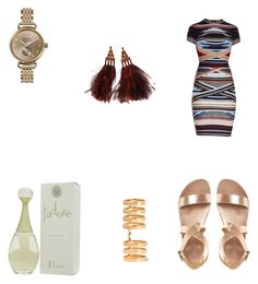 """""""Untitled #249"""" by styleluxjstyle on Polyvore featuring Hervé Léger, Christian Dior, Louis Vuitton, Shinola and Repossi"""
