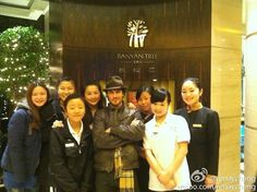 Ian Somerhalder with fans in China on December 28, 2012
