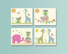 Original nursery decor and wall art for babies and kids room!    This sweet nursery art will look perfect on your little ones nursery wall.