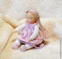 Вальдорфская игрушка ручной работы. Ярмарка Мастеров - ручная работа Малышка каркасная, 15 см. Handmade.
