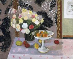 Henri  Matisse  (1869-1954) Still Life.   Bouquet and Compotier (Nature morte_ bouquet et compotier), 1924    Dallas Museum of Art