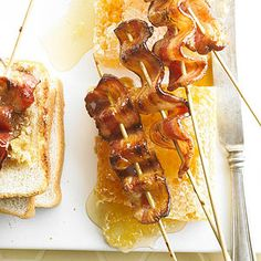 Honey-Pepper Bacon Pops