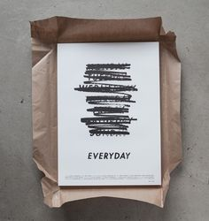 Everyday — Albin Holmqvist in Typography