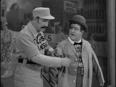 Abbot & Costello's famous sketch Who's On First? Video