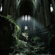 """""""Abandoned Cathedral of St. Etienne of Bourges, France #PreciousPlanet Photo by @hangloozz via @EarthPics"""""""