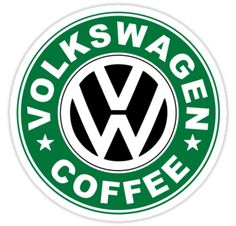 'Camp de café' by Beetle-Ink Poulton Polo Volkswagen, Vw T1, Vw Bora Tuning, Car Brands Logos, Vw Logo, Vw Vintage, Golf 1, Cool Vans, Camping Coffee