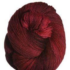 Manos Del Uruguay Fino Yarn - 411 Garnet Brooch, fingering, 70 merino/30 silk