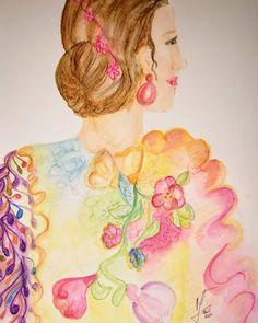 Quedate en casa, pero recuerda dejar salir el arte en tus tiempos libres!  #Arte #Art #Acuarela #stayhome #takecare #staystrong #flamenca #flamenco Painting, Home, Going Out, Flamingo, Watercolor Painting, Painting Art, Paintings, Paint, Draw