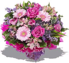 Figura de buquê de flores variadas