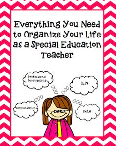 Everything You Need to Survive as a Special Education Teacher Blog Post