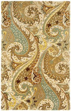 Paisley rug in moonstone by Capel Rugs. 8x11' $2429.00