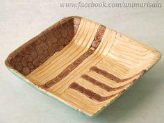 """Piattino - Ceramic lab. RSA """"La Risaia"""" - nursing home - www.facebook.com/animarisaia #rsa #casa di riposo"""