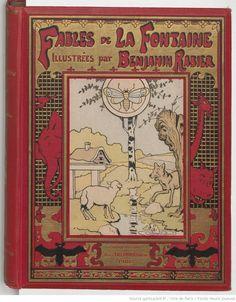 Fables / de La Fontaine ; illustrées par Benjamin Rabier,  collections numérisées dans Gallica, Fonds Heure Joyeuse (Paris)