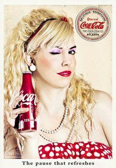 ❤ Girls on #biertjedrinken - Powered by BiertjeDrinken.nl #girl #coke Coca Cola model