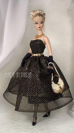 Silkstone Barbie |  Jeff Club Gift Exclusive Fashion 3(7)sL by MADEinPARIS, via Flickr