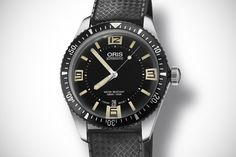 Pre-Basel: New Oris Re-issue Divers Sixty-Five!