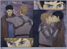Merlin FanArt: WTF by ~Shin-ichi on deviantART  (Merlin Emrys / Arthur Pendragon, Merthur, Colin Morgan, Bradley James, Merlin Fanart)