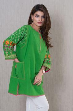 Khaadi - Embroidered Kurta - Prêt