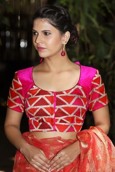 Buy Designer Blouses online, Custom Design Blouses, Ready Made Blouses, Saree Blouse patterns at our online shop House of Blouse from India. Best Blouse Designs, Sari Blouse Designs, Blouse Online, Sarees Online, Designer Blouses Online, House Of Blouse, Saree Blouse Patterns, Beautiful Blouses, Indian Wear