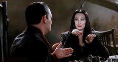 Morticia Addams, Gomez And Morticia, Adams Family Morticia, Los Addams, Raul Julia, Charles Addams, Kenny Ortega, Anjelica Huston, Family Research