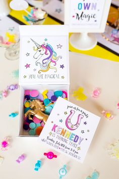 Unicorn Birthday Party Ideas | by Jessica Wilcox of Modern Moments Designs | www.modernmomentsdesigns.com