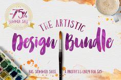 The Artistic Design Bundle by Ivan Rosenberg on Creative Market