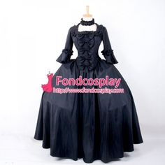Cheap victorian costume dresses, Buy Quality halloween costumes dresses directly from China medieval renaissance dresses Suppliers: Century ROCOCO Ball Gown Gothic Lolita Medieval Renaissance Victorian Royal Dress Costume Puff Sleeve Halloween Party Dress Victorian Dress Costume, Gothic Dress, Costume Dress, Gothic Lolita, Cosplay Costumes, Gothic Girls, Royal Dresses, Linen Dresses, Ball Dresses