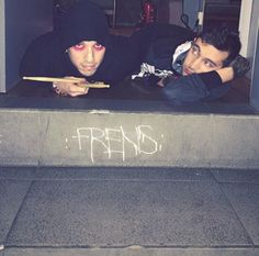 Awww the way Tyler is looking at him