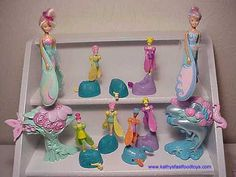 Sky dancers...I never got one of the big ones, but I did have the little purple and pink one from McDonalds...I wanted a big one so bad!